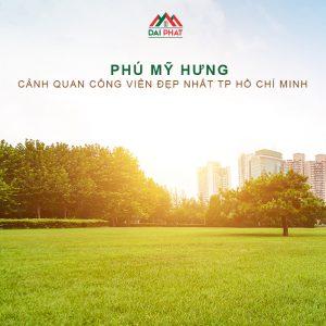 Công Viên Phú Mỹ Hưng - Cảnh quan đẹp nhất TPHCM