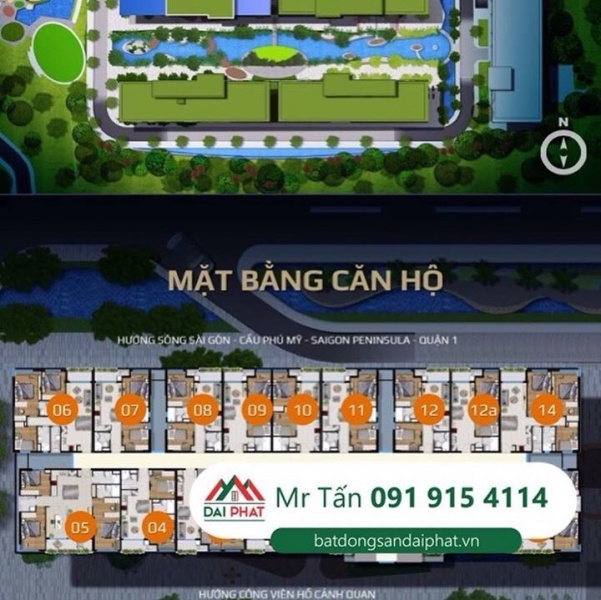 Bán gấp căn hộ cao cấp River Panorama