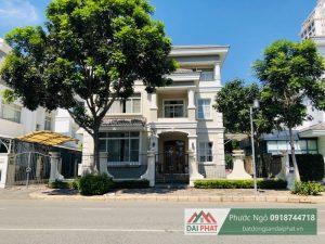 Cho thuê biệt thự đơn lập Mỹ Văn - Khu đô thị Phú Mỹ Hưng, Quận 7