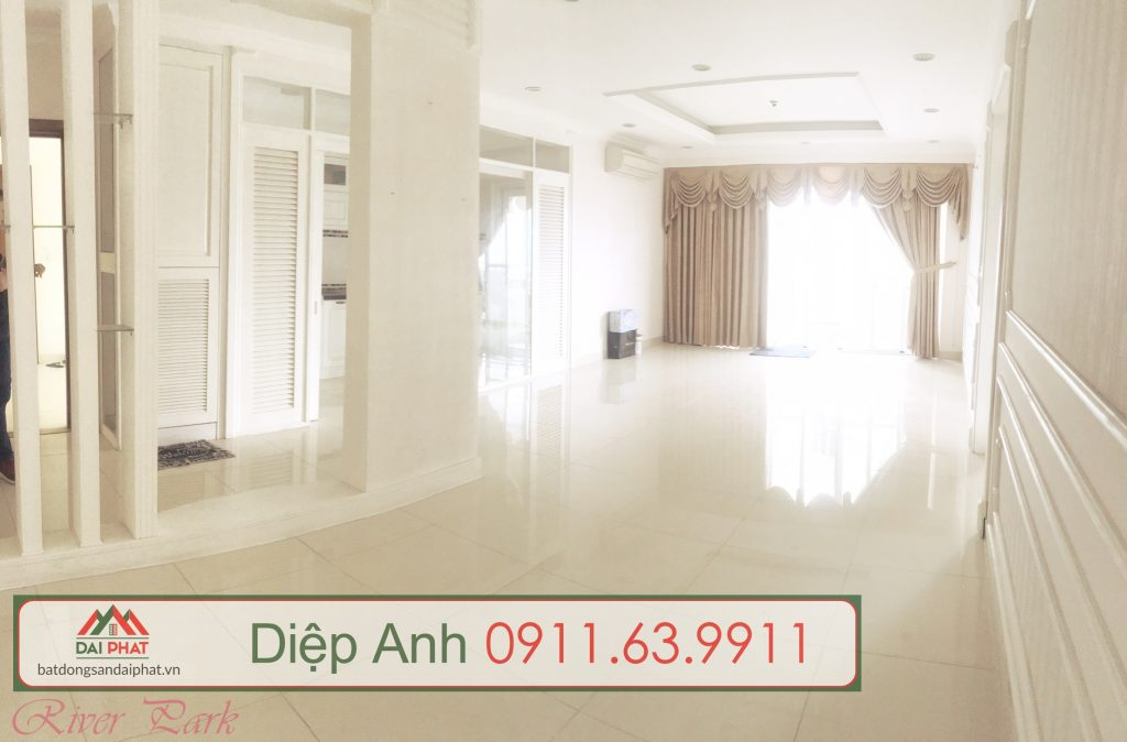 Bán căn hộ River Park , Phú Mỹ Hưng, DT: 135m2