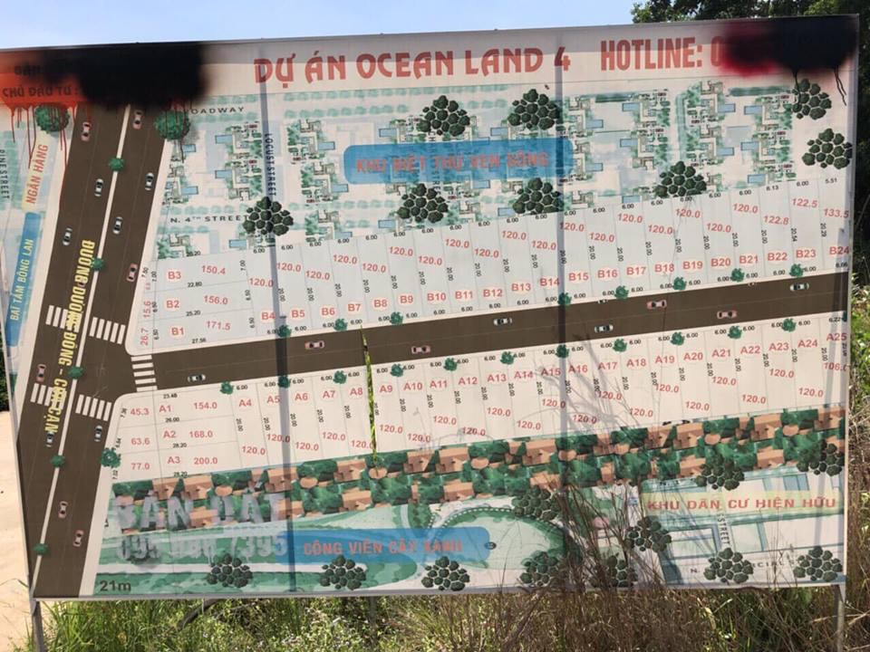 Cần bán gấp 171m2 đất mặt tiền đường Dương Đông Cửa Cạn.