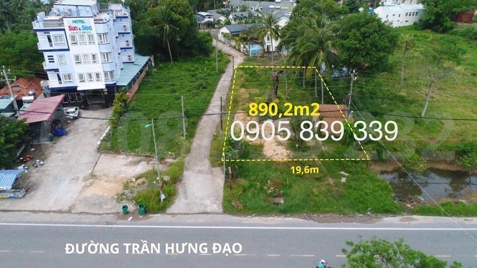Ban 890m2 Dat Mat Tien Tran Hung Dao Gia Dau Tu
