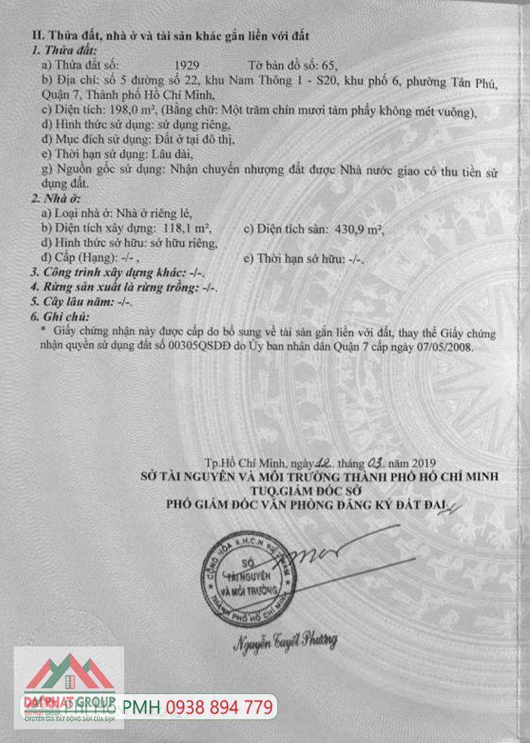 Ban Don Lap Nam Thong Phu My Hung 0938894779 Phi Ho Pmh