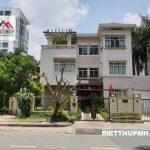 Cho Thue Biet Thu Goc 2 Mt Duong Lon Phu My Hung Quan 7 Gia 104trthang