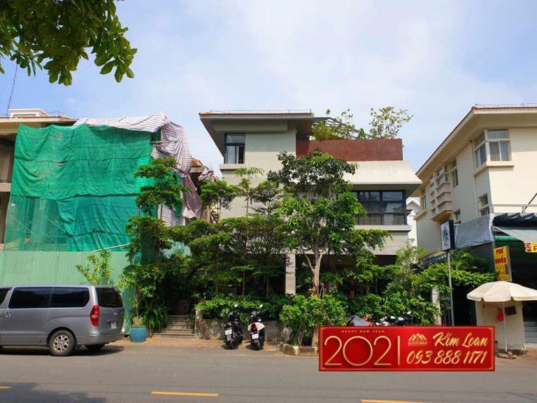 Ban Biet Thu Don Lap Canh Doi Phu My Hung Mat Tien Nguyen Binh