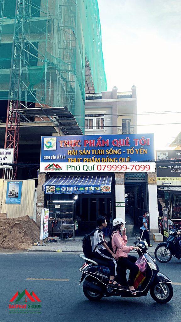 Nha Mat Tien Kinh Doanh 62m Duong Lam Van Ben Quan 7 Duong Xe Co Luu Thong Chu Yeu Trong Khu Vuc