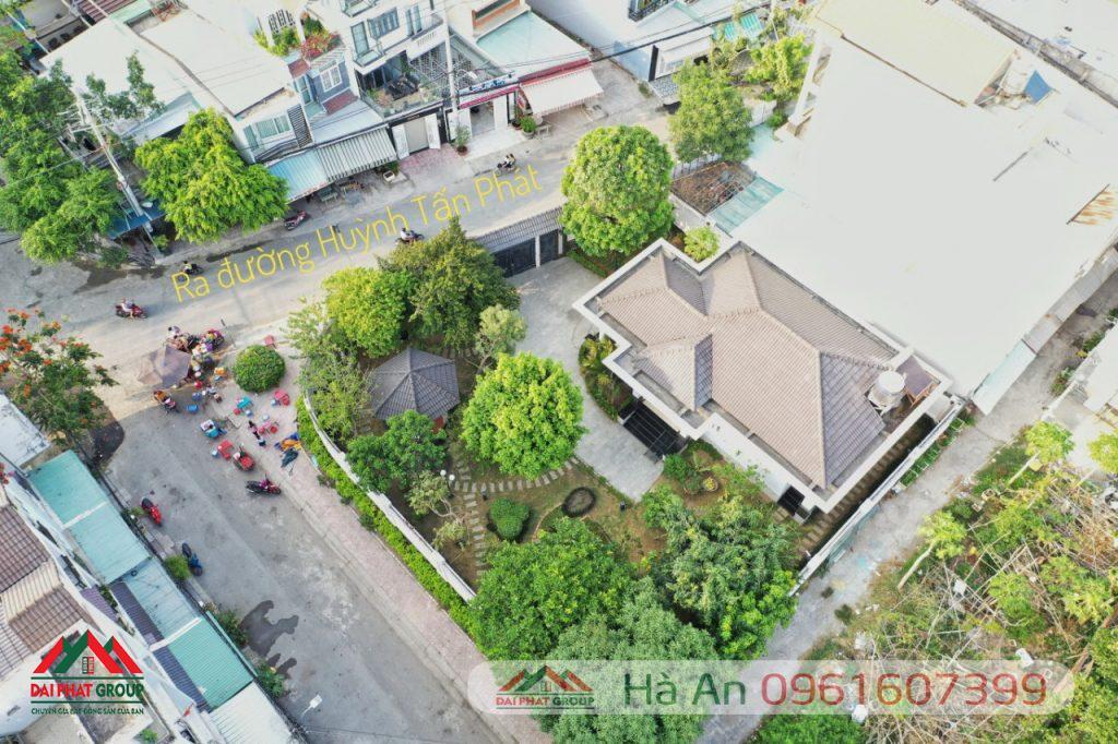 Biet Thu San Vuon Trung Tam Thi Tran Nha Be Hai Mat Tien Duong Dien Tich Hon 600m2