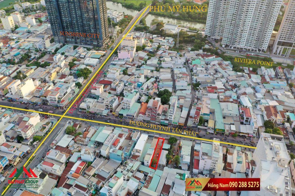Ban Dat 6x40m Mat Tien Huynh Tan Phat Phuong Phu Thuan Quan 7